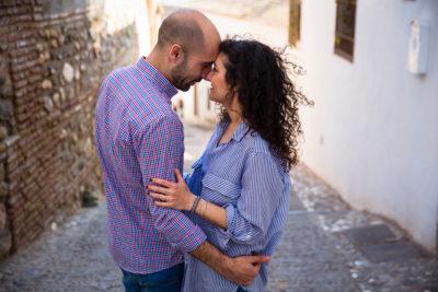 Preboda en el Albaizín. Lorena y Javi. DobleEnfoque. Fotógrafos de boda